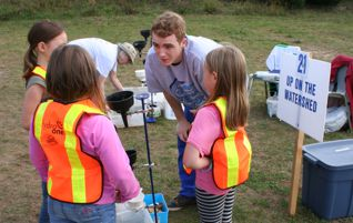 Volunteering at the Haliburton-Muskoka-Kawartha Children's Water Festival